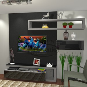 Marcenaria Milenio home theater